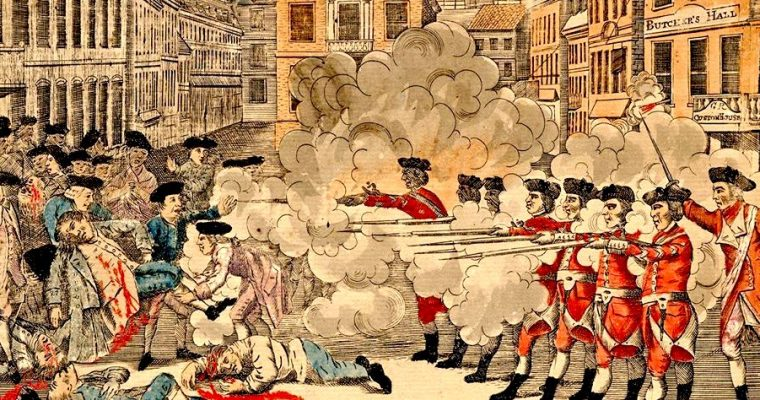 Boston 'Massacre' the spark of revolution
