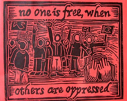 Oppression of the few for the benefit of the many…moral?